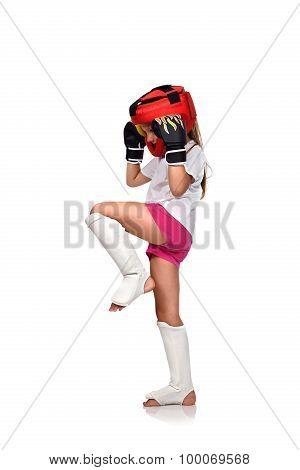 Muay Thai Girl Fighting