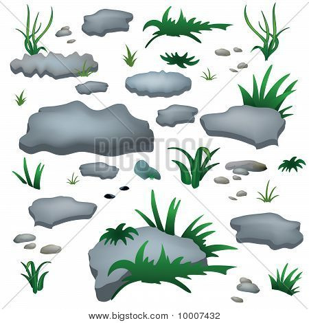 Rocks and Grass