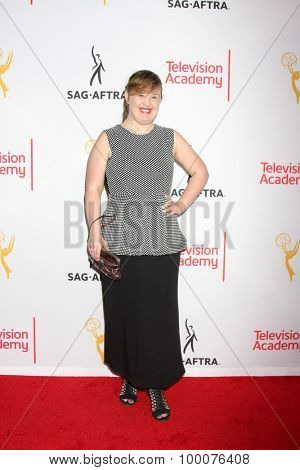 LOS ANGELES - AUG 27:  Jamie Brewer at the Dynamic & Diverse Emmy Celebration at the Montage Hotel on August 27, 2015 in Beverly Hills, CA