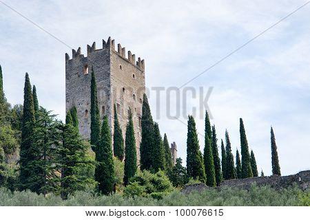 Castle Of Arco Di Trento - Lake Garda - Italy