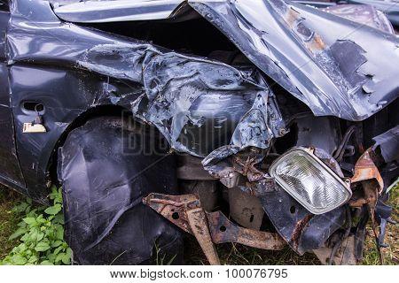 Parts Car Crash