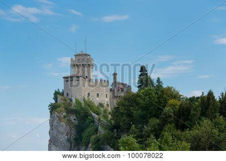 Castle Of The Republic Of San Marino