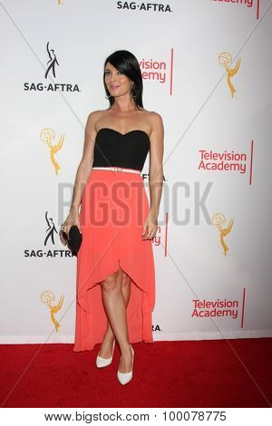 LOS ANGELES - AUG 27:  Amy Pemberton at the Dynamic & Diverse Emmy Celebration at the Montage Hotel on August 27, 2015 in Beverly Hills, CA