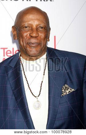 LOS ANGELES - AUG 27:  Lou Gossett Jr at the Dynamic & Diverse Emmy Celebration at the Montage Hotel on August 27, 2015 in Beverly Hills, CA