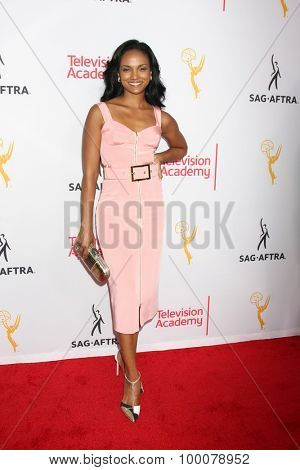 LOS ANGELES - AUG 27:  Mekia Cox at the Dynamic & Diverse Emmy Celebration at the Montage Hotel on August 27, 2015 in Beverly Hills, CA
