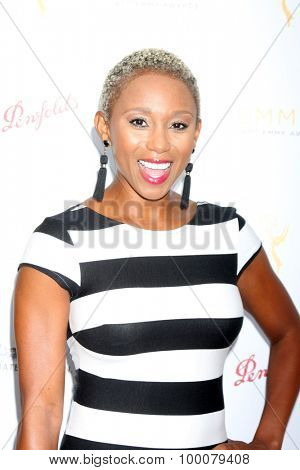 LOS ANGELES - AUG 26:  Zee Jones at the Television Academy's Daytime Programming Peer Group Reception at the Montage Hotel on August 26, 2015 in Beverly Hills, CA