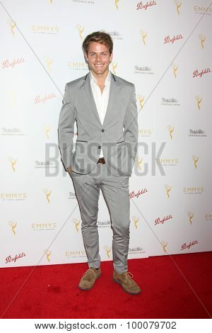 LOS ANGELES - AUG 26:  Lachlan Buchanan at the Television Academy's Daytime Programming Peer Group Reception at the Montage Hotel on August 26, 2015 in Beverly Hills, CA
