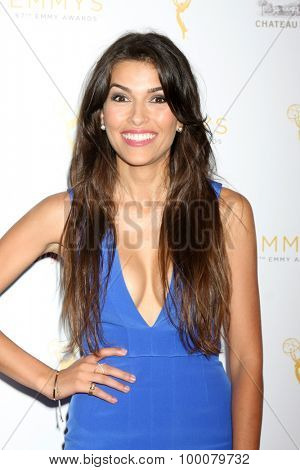 LOS ANGELES - AUG 26:  Sofia Pernas at the Television Academy's Daytime Programming Peer Group Reception at the Montage Hotel on August 26, 2015 in Beverly Hills, CA