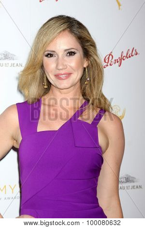 LOS ANGELES - AUG 26:  Ashley Jones at the Television Academy's Daytime Programming Peer Group Reception at the Montage Hotel on August 26, 2015 in Beverly Hills, CA