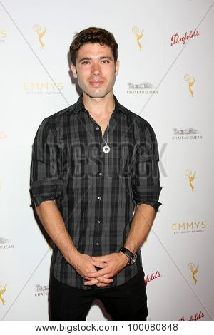 LOS ANGELES - AUG 26:  Kristos Andrews at the Television Academy's Daytime Programming Peer Group Reception at the Montage Hotel on August 26, 2015 in Beverly Hills, CA