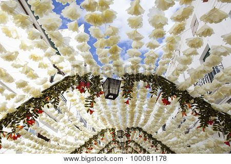 Paper Ceiling At Campo Maior Festival, Portugal