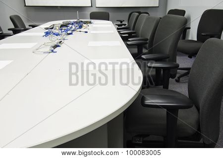 Conference room preparation