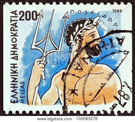 GREECE - CIRCA 1986: A stamp printed in Greece from the