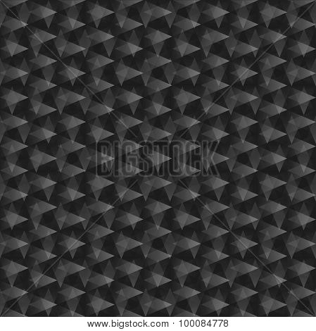 Abstract black seamless texture.
