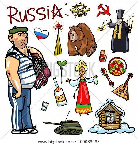 Travelling attractions - Russia