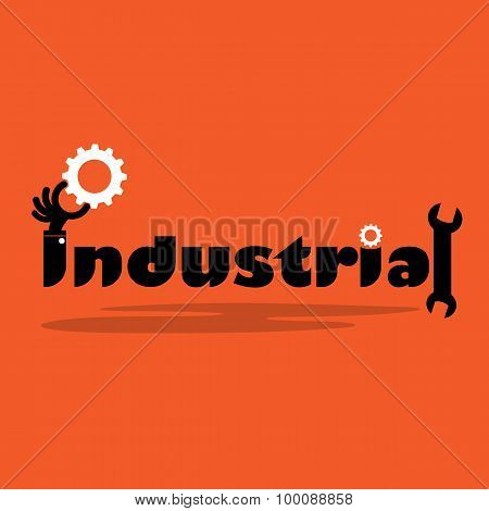 Creative Gear Cog Idea,flat Design.concept Of Industrial Inspiration, Innovation, Invention, Effecti