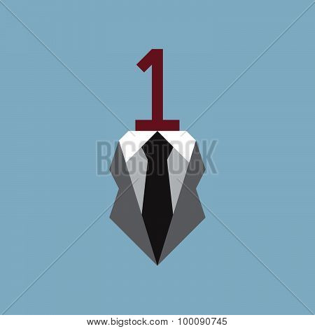 Number One With Business Suit
