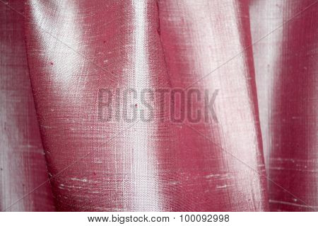 abstract background luxury cloth or liquid wave or wavy folds of pink silk cloth texture