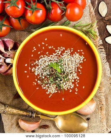 Fresh Tomatoe Soup