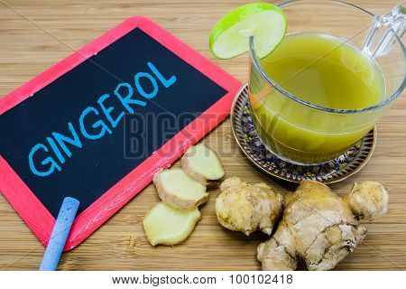 Gingerol, An Active Constituent Of Fresh Ginger.
