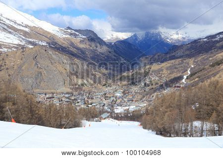 Valloire, French Alps