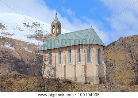 Chapel In Valloire, France