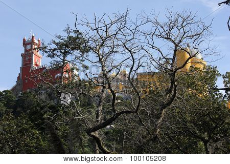 Overview Of Pena National Palace