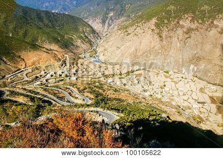 Landscape scenery of Daocheng County, Sichuan