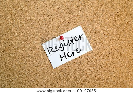 Register Here Text Concept Note