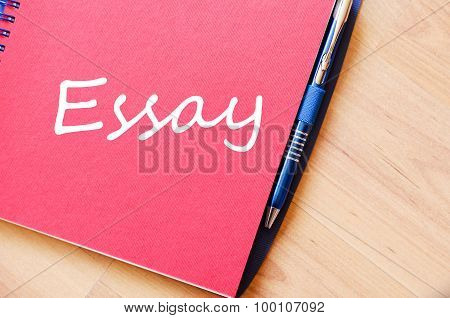 Essay Text Concept Note