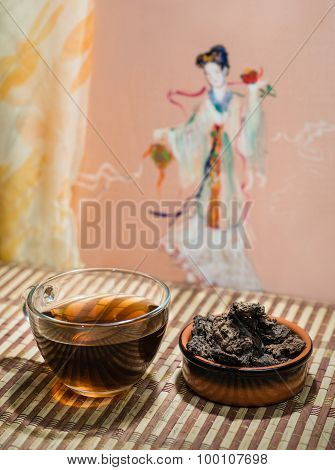 Chinese Puer Tea.