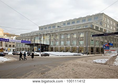 Shop Tsum -- Central Universal Department Store. Moscow
