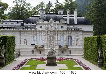 Facade Of Castle Linderhof, Bavaria