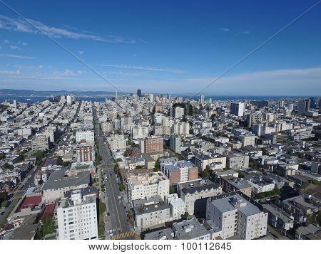 Aerial image San Francisco
