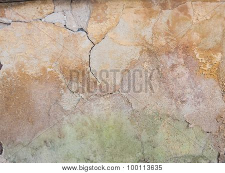 Scratched Aged Wall Plaster