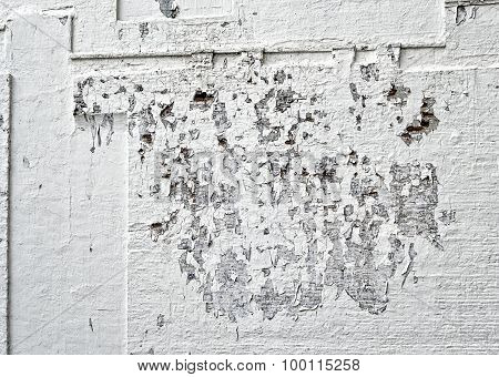 Wall Peeling Paint