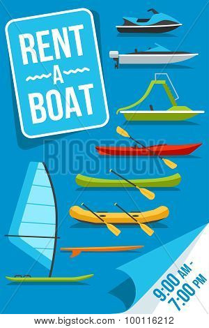 Boat Rent Poster