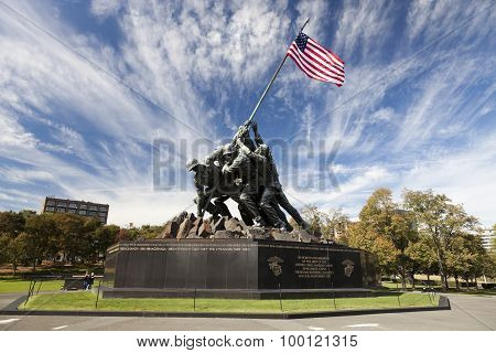Iwo Jima Statue - Washington Dc, Usa