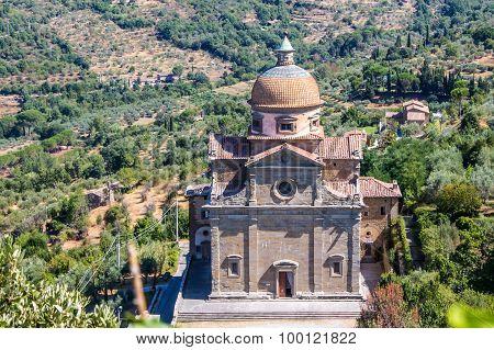 Santa Maria Nuova Church In Cortona ,italy