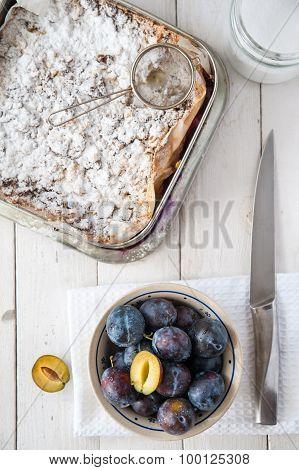 Sweet Plum Cake