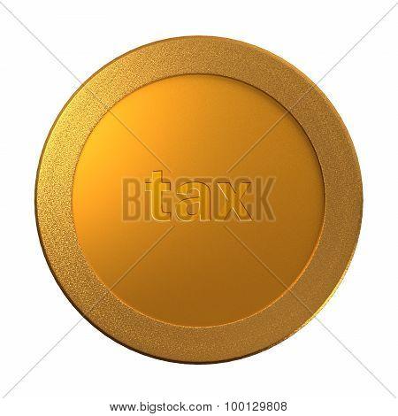 Gold Tax Medal