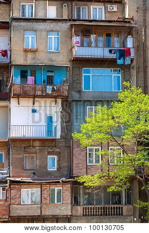 Balcony, Window Wall