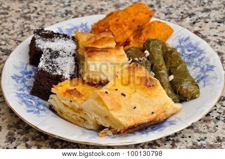 Pastry and stuffed