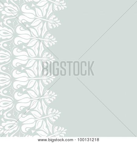Floral Modern Vector Frame