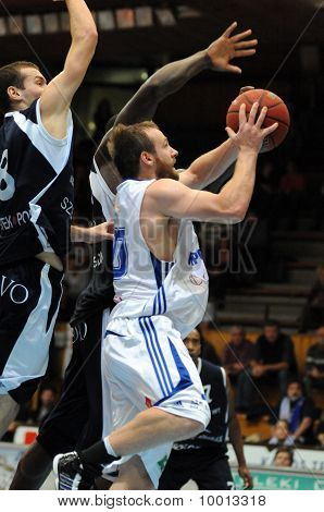 Kaposvar - Szeged basketball game