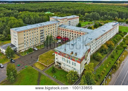 Tyumen Neftyanik hospital in medical town, Russia