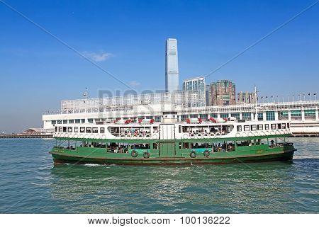 HONG KONG - DECEMBER 3: Ferry