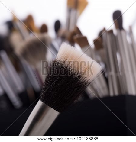 Make-up Brush Closeup
