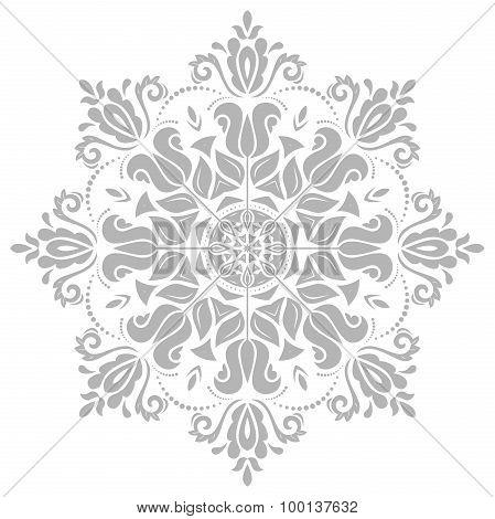 Damask Vector Oriental Pattern