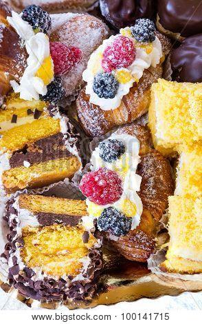 Raspberry And Blackberry Pastries